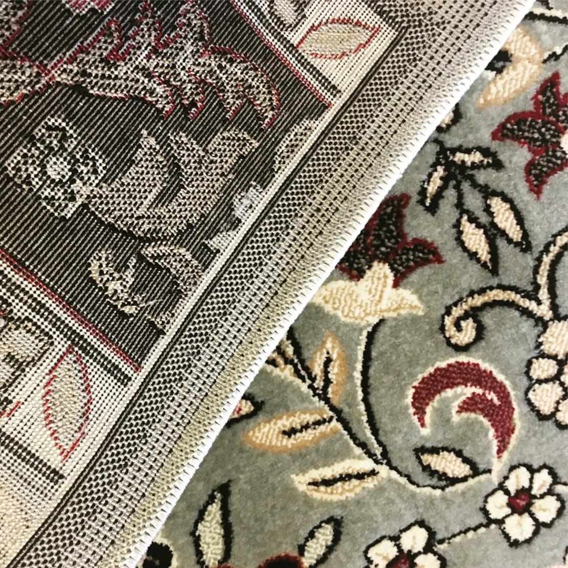 Green Authentic Haramain Rawdah Prayer Mat Rug Carpet