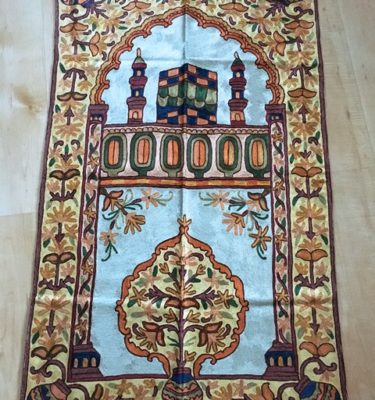 handmade prayer mat